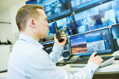 surveillance security system video monitoring worker